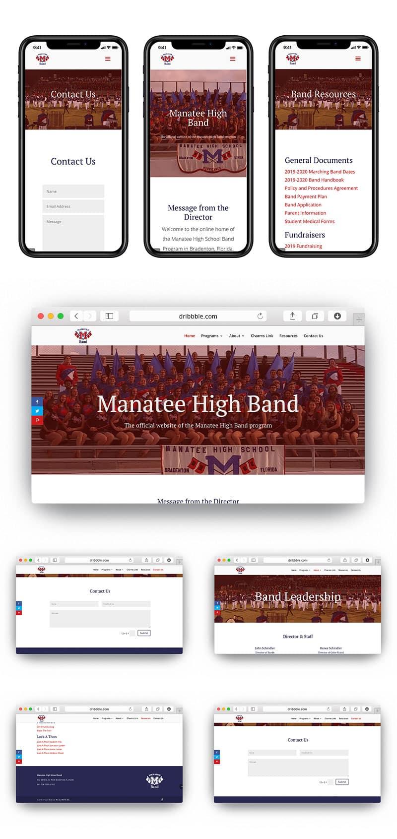 Manatee High School Band